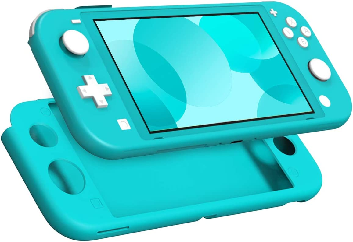 MoKo Funda Compatible con Nintendo Switch Lite, Estuche de Silicona Portátil Ultra Delgado Caja Protectora de Viaje para Nintendo Switch Lite 2019 – Turquesa: Amazon.es: Electrónica