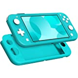 MoKo Case for Nintendo Switch Lite, Silicone Protective Rubber Cover, Shock-Absorption Anti-Scratch Non-Slip Case for…