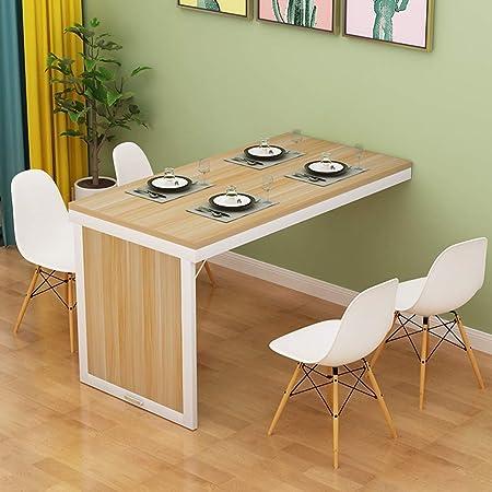 Table de salle à manger pliante fixée au mur Table
