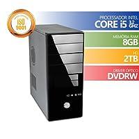 Computador Premium Brazil Intel Core I5 8gb Ddr3 HD 2Tb DVDRW