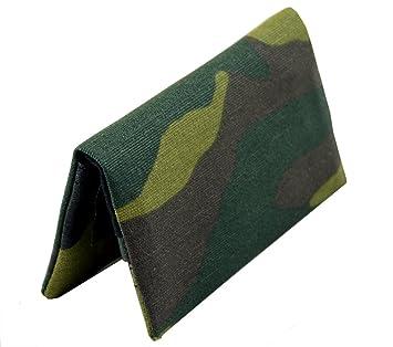 BLAGUE À TABAC en tissu Plan B Modèle Two Days Militaire - Ultra compact blague à tabac à rouler au design impactant et aux compartiments pour filtres, papier et tabac haché.
