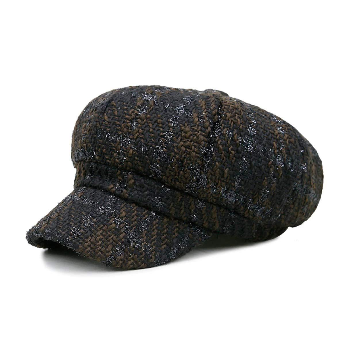 Baker boy Cap Newsboy Caps Women Spring Autumn Baker Boy Vintage Octagonal Cap Lady Hats Elastic Casual British Beret