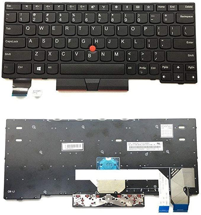 KEMENG New Laptop Replacement Keyboard for Lenovo IBM ...