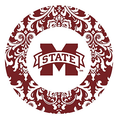 Thirstystone Stoneware Coaster Set, Mississippi State University Pattern