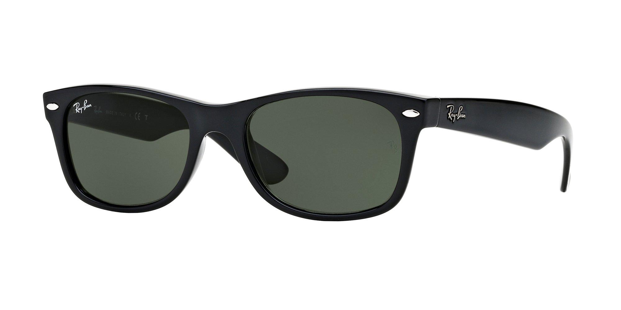 Ray Ban RB2132 901 58M Black/Green+FREE Complimentary Eyewear Care Kit