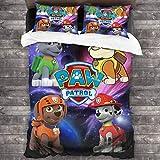 Dream Castle1 PAWPatrol Kids Bedding Super Soft Comforter and Sheet Set, 3 Piece Twin Size 86'x70