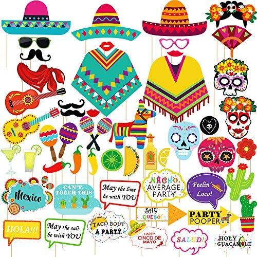 Amazon.com: Supla 52 unidades de decoraciones para fiestas ...