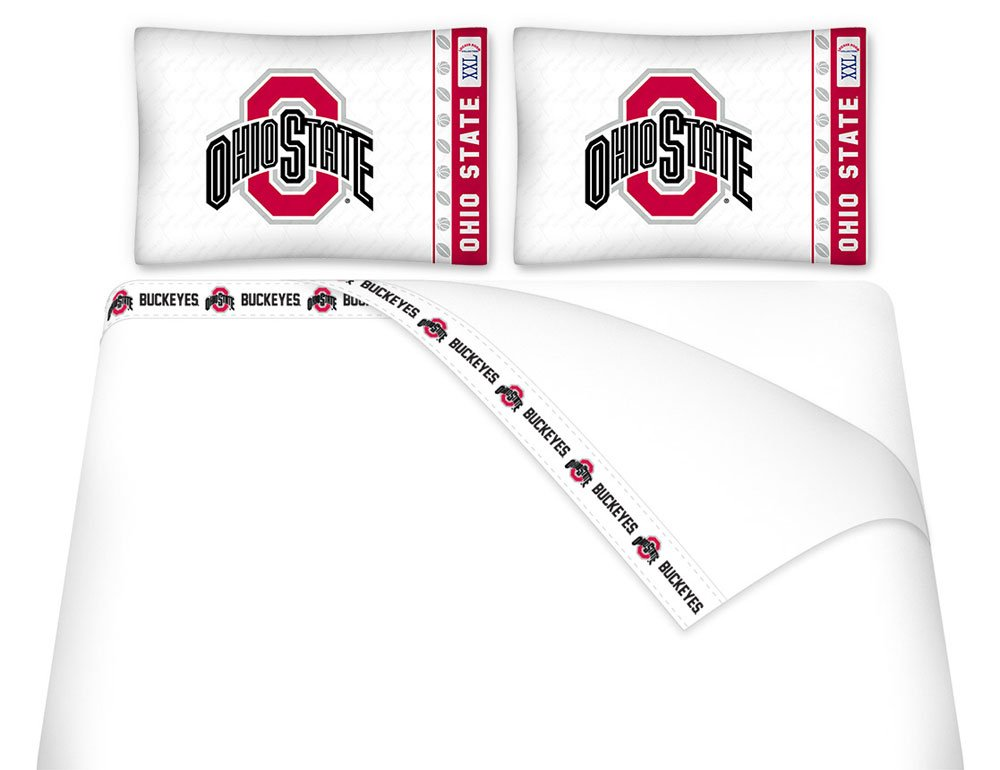 NCAA Ohio State Buckeyes - 5pc BED IN A BAG - Queen Bedding Set