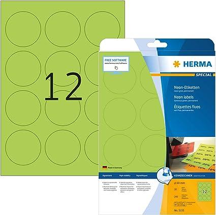 Markierungspunkte DIN A4 Bogen Papier weiß 150 Klebepunkte 75 mm