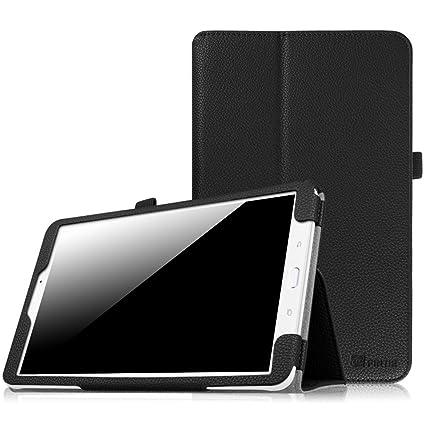 hot sale online 7082b 63774 Fintie Samsung Galaxy Tab E 9.6 Folio Case - Slim Fit Premium Vegan Leather  Cover for Samsung Tab E/Tab E Nook 9.6-Inch Tablet (SM-T560 / T561 / T565  ...