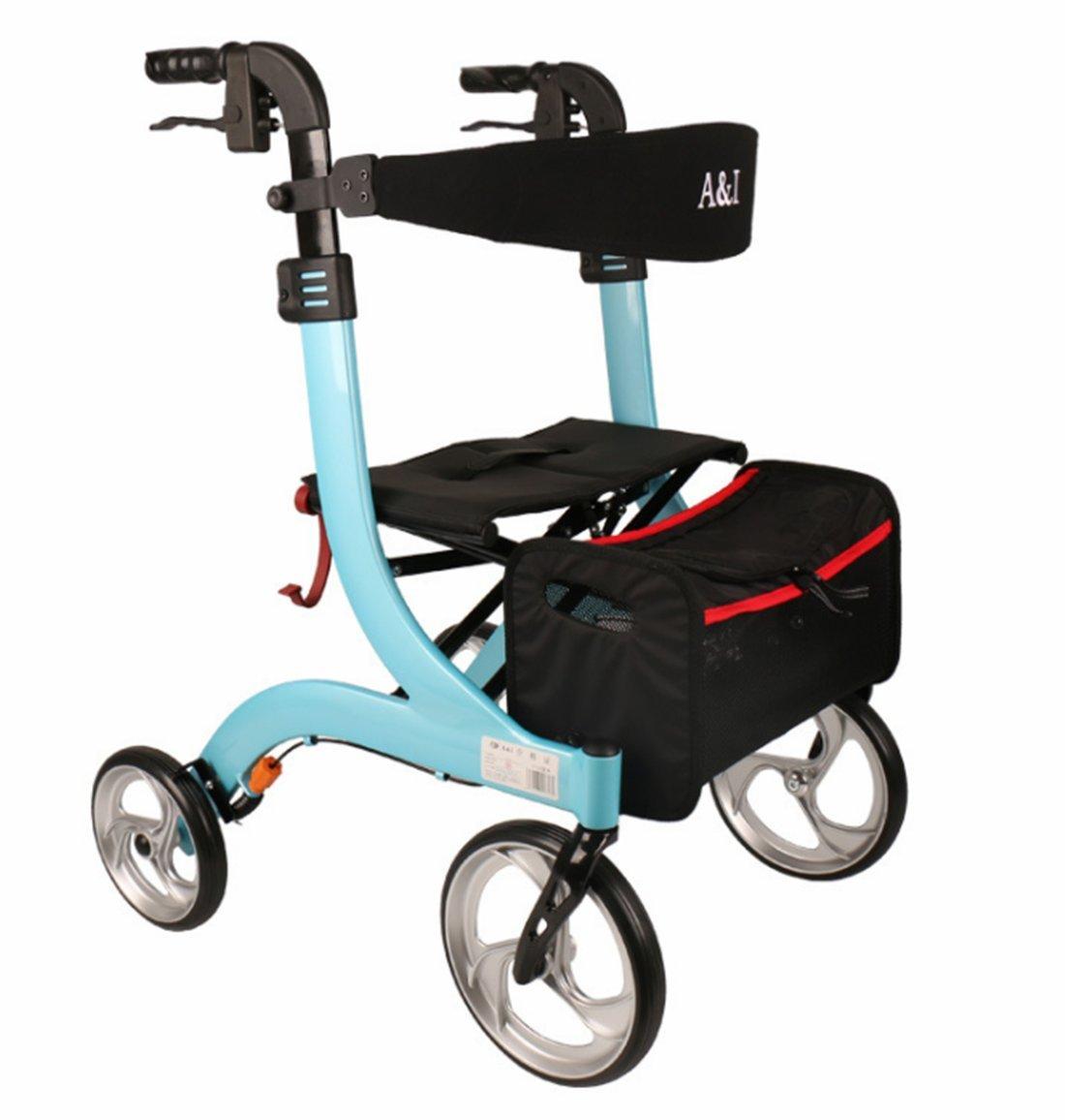 Amazon.com: DDPP - Silla de aluminio con cuatro ruedas para ...