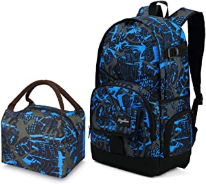 Rickyh style Backpack for Students kids bag Lightweight Waterproof 15.6 Inch