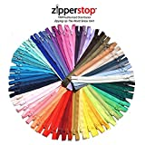 YKK #3 Skirt & Dress Zippers 12 Inch ~ Assortment of Colors (25 Zippers)