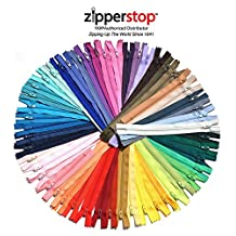 YKK #3 Skirt & Dress Zippers 12 Inch ~ Assortment of Colors (25 Zippers)