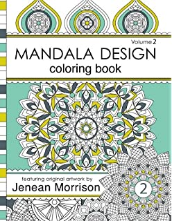 Mandala Design Adult Coloring Book An For Stress Relief Relaxation