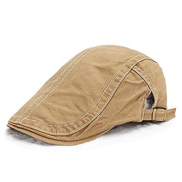 Shining-hat Chapelas para Hombre Boinas para Hombre Gorras de ...