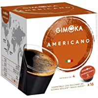 GIMOKA Dolce Gusto Coffee Capsules AMERICANO Espresso , 100% Coffee Arabica, Nescafé Compatible,16 Capsules 112GR…