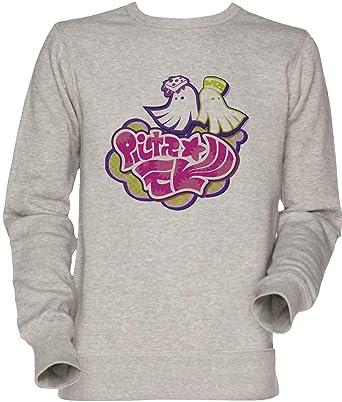 Vendax Calamar Hermanas Logo Unisexo Hombre Mujer Sudadera Jersey Gris Mens Womens Jumper Sweatshirt Grey
