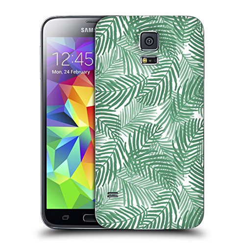 Official Charlotte Winter Areca Tropical Patterns Replacement Battery Cover for Samsung Galaxy S5 / S5 Neo