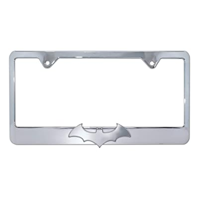Elektroplate Batman License Plate Frame (Bat Chrome LPF): Automotive [5Bkhe0902675]