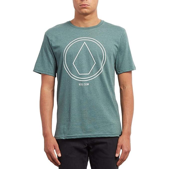 Volcom Pinline Stone HTH SS Camiseta, Hombre: Amazon.es: Ropa y ...