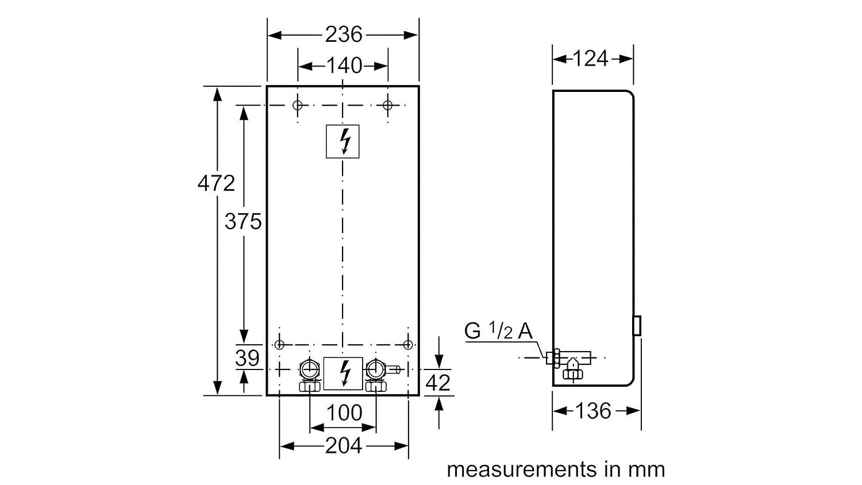 Ufesa calentador de 3UF 1821/de 3UF 2427 18/21 kW: Amazon.es: Bricolaje y herramientas