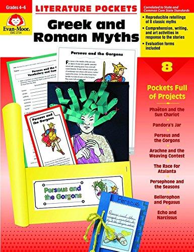 Download Literature Pockets, Greek & Roman Myths, Grades 4-6 pdf epub