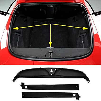 Amazon com: C4 CORVETTE REAR DECK TRIM PANELS 3 PIECE KIT