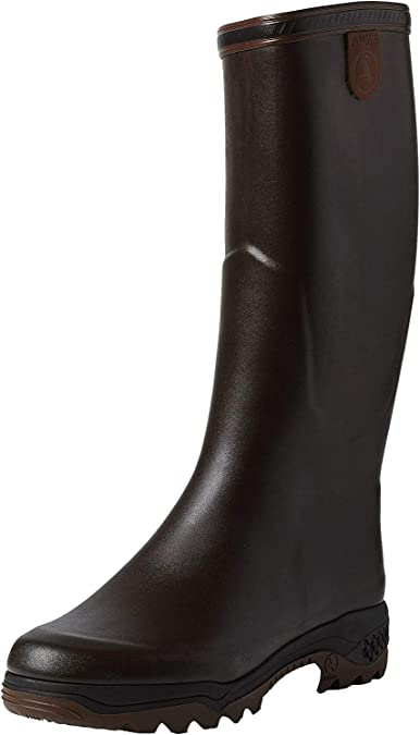 Aigle Parcours 2 ISO Wellington Verde da Uomo Open Stivali di gomma in neoprene misura 7-12