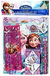 Disney Frozen Elsa & Anna 11 Piece School Supply Stationary Set