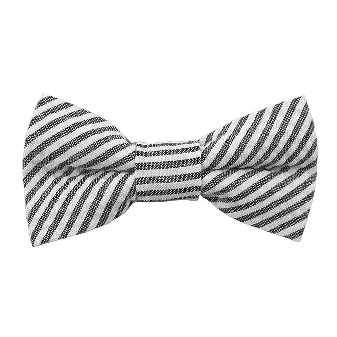 dd839ee58078 Jacob Alexander Men's Seersucker Bow Tie at Amazon Men's Clothing store: