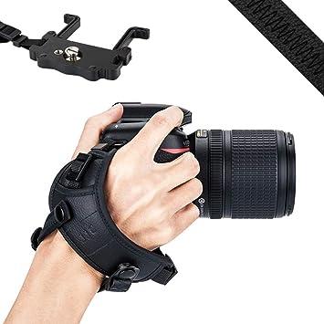 JJC - Correa de mano para cámara réflex digital Nikon D810, D750 ...
