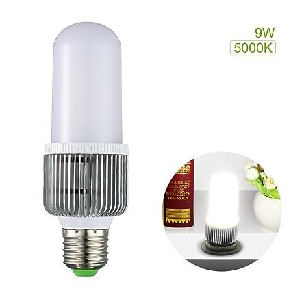 S & G Bombillas LED 9 W (75 W W equivalente), 5000 K blanco