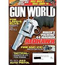 Gun World March 2008 Vol 49 No 3 Magazine RUGER'S PACKING .44 MAGNUM REDHAWK Tactical: Advanced AK-47s From Romania