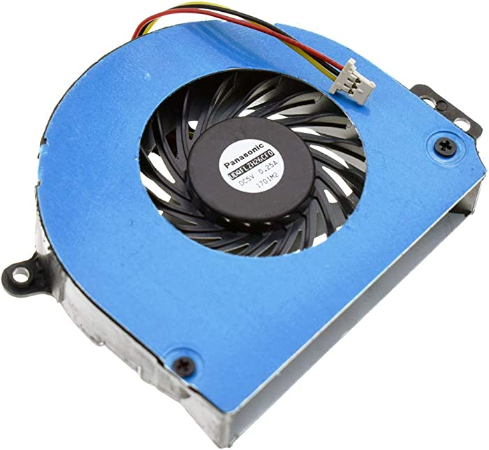 DREZUR CPU Cooling Fan Compatible for Dell Inspiron 14R N4110 N4120 M411R M4410 Vostro 3450 V3450 Series Laptop Cooler MF60100V1-Q032-G99 0HFMH9