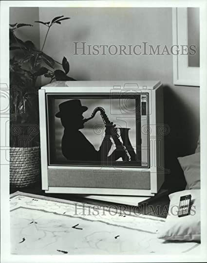 Amazon com: 1987 Press Photo Contemporary Zenith Swiveling