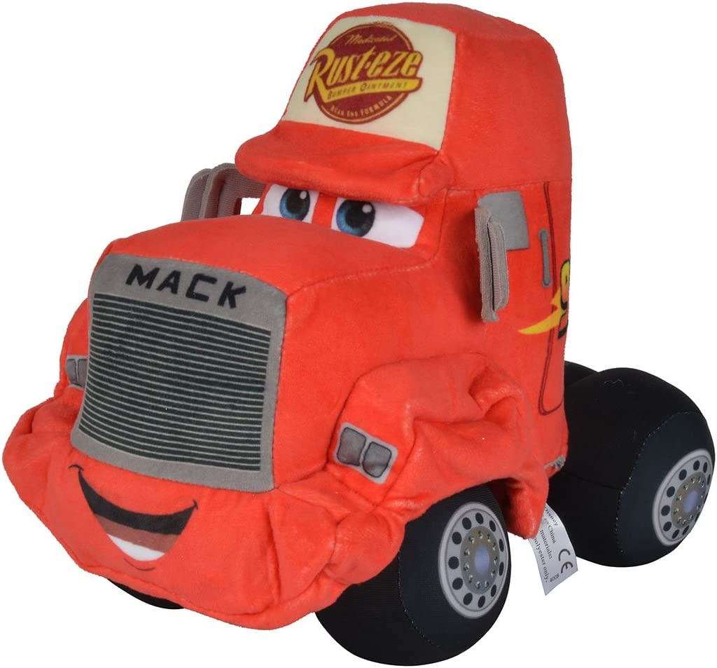 Simba–Disney Cars 3, Peluche Auto, Mack