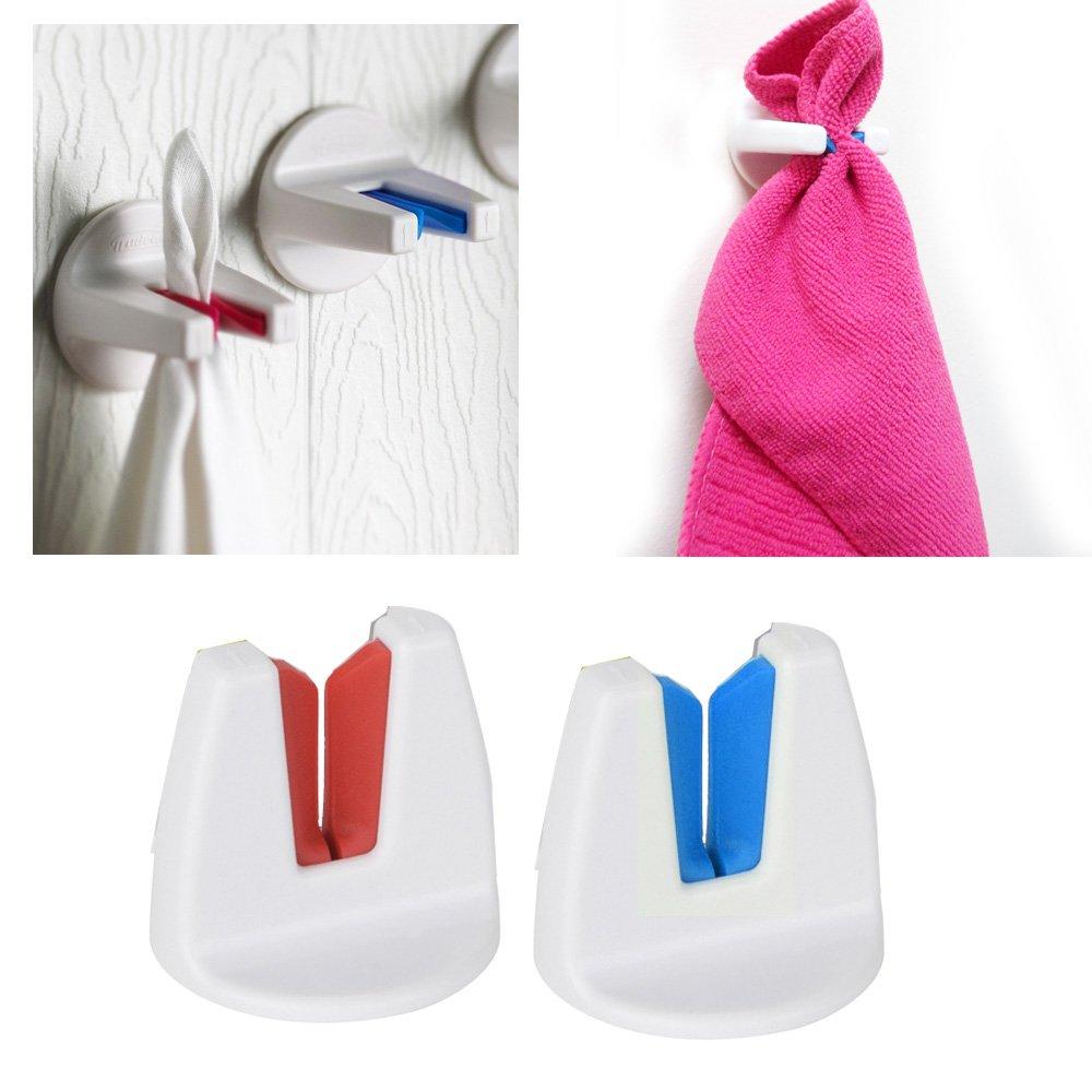 Dishcloth Hanger: 30%OFF 2 Kitchen Bathroom Self Adhesive Tea Towel