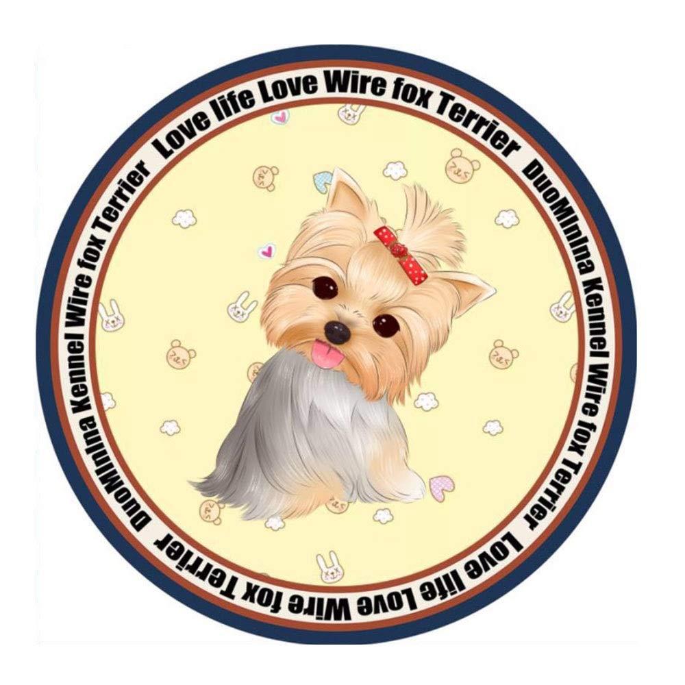 1003-XL Dog Sleeping Mat, Pet Dog Mat Round Kennel Four Seasons Big Medium-Small Dog Cat Bed Carpet Mat (color   1003-XL)
