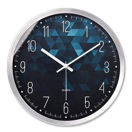 FUXINGXING Elegante salón Ideas atmósfera Minimalista Moderno Reloj Reloj de Pared Reloj de Cuarzo Tabla,