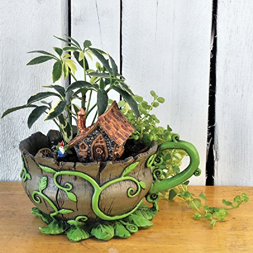 Georgetown Fairy Garden Tea Cup Planter and Accessories