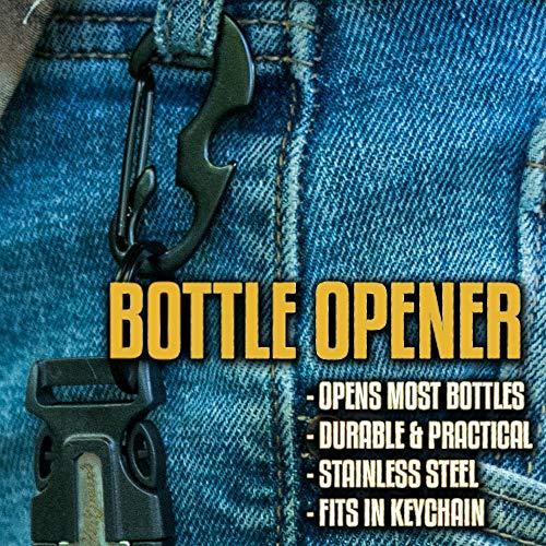 Holtzman's #1 Best Paracord Keychain Carabiner Survival Tool (Elite) by Holtzman's Gorilla Survival (Image #8)