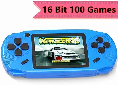 Amazon.es: ZHISHAN Consola de Juegos Portátil para Niños con Construido en 100 Classic Video Juegos Sistema 3.0