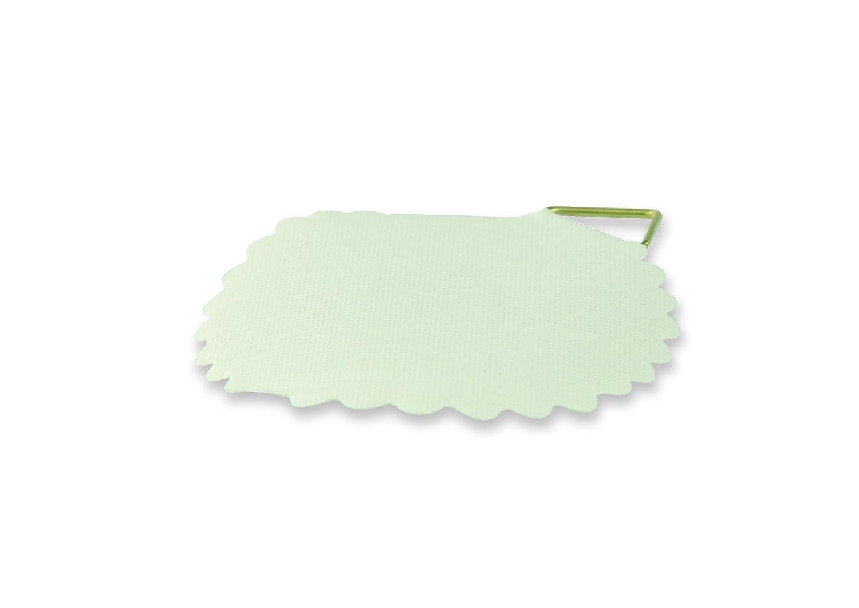 Suki 6152370 Attaches tableau adh/ésif toile gomm/é blanc 30 mm 6 pi/èces