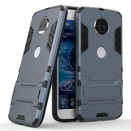 Funda para Motorola Moto G5s Plus (5,5 Pulgadas) 2 en 1 Híbrida ...