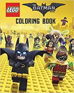 The Lego Batman Movie Coloring Book: Over 40 action-packed ...