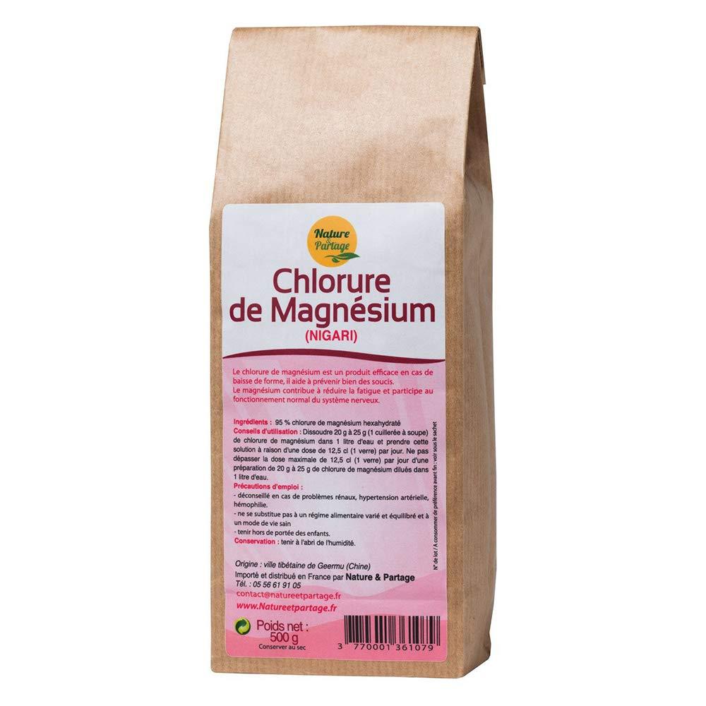 Nature et partage - Cloruro de magnesio (nigari, 500 g): Amazon.es: Salud y cuidado personal