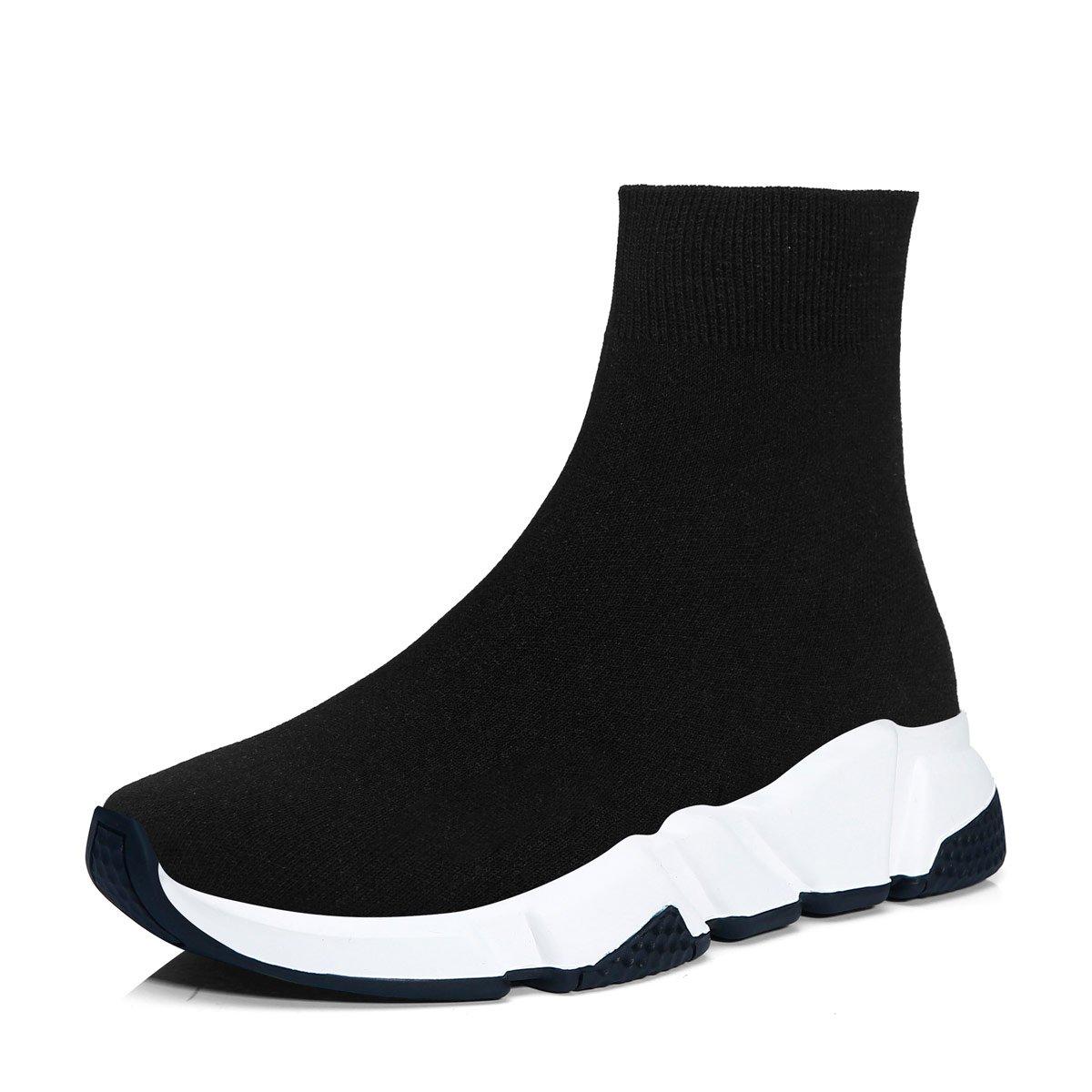 Hommes 15373 Femmes Respirant Mode Sliper Outdoor Chaussures Léger Respirant Baskets athlétique Baskets Sneakers Noir/Blanc 2333d8d - boatplans.space
