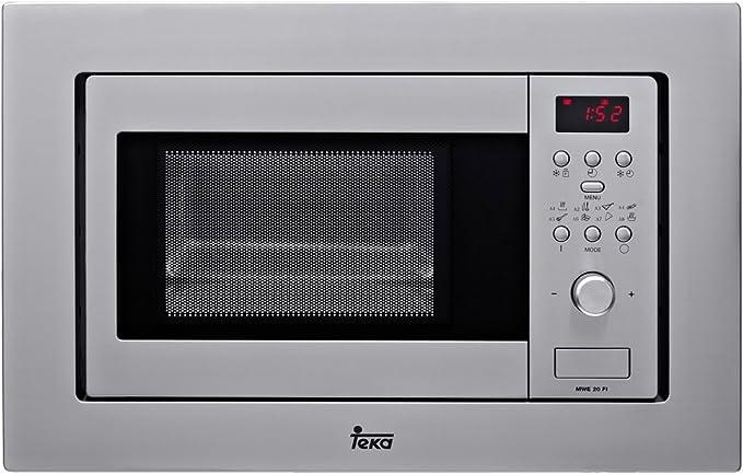 Teka ME 20 FI - Microondas incorporable con grill, 800 W, 20 l ...