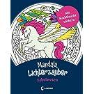 Mandala-Lichterzauber - Fabelwesen: Mit Nachtleuchtstickern